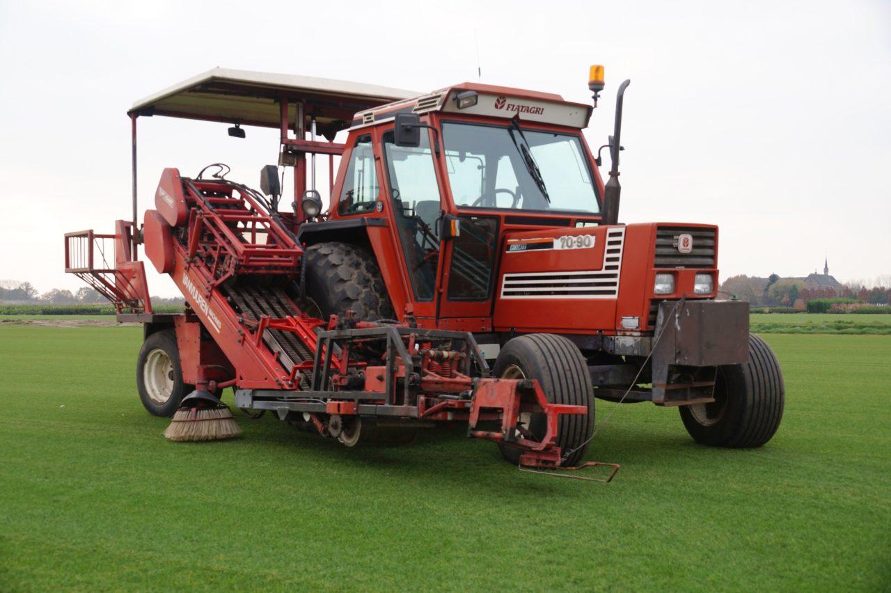 """Turf Tick Sod Harvester model """"Giant""""/SOLD"""