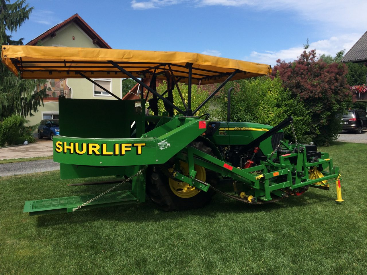 Shurlift harvester/ slabs