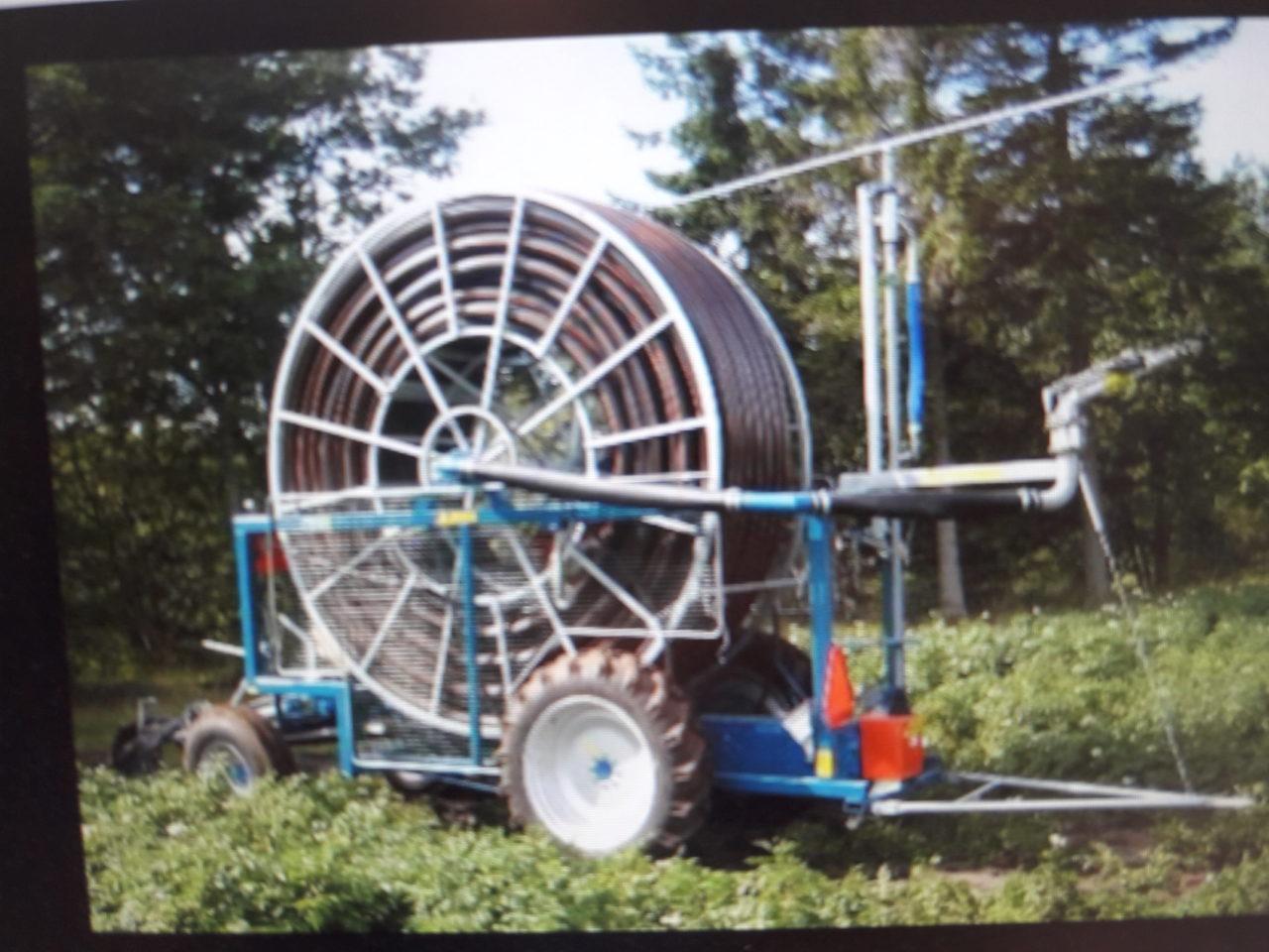 Fasterholt TL235 irrigation reel.